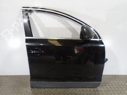 NEGRO | 5P | Tür rechts vorne Q7 (4LB) 3.0 TDI quattro (233 hp) [2006-2008] BUG 8148698
