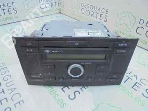 3S7T18C815AD | Radio MONDEO III Saloon (B4Y) 1.8 16V (125 hp) [2000-2007] CHBA 5523560
