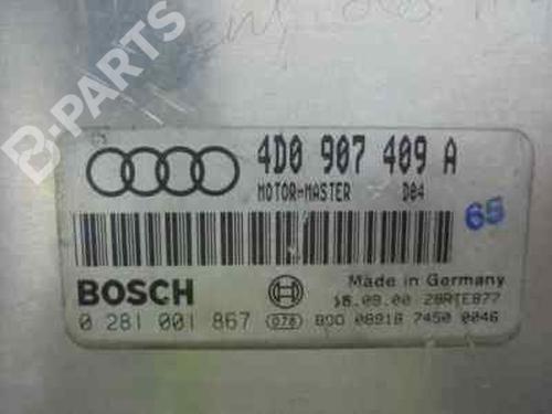 Steuergerät Motor AUDI A8 (4D2, 4D8) 3.3 TDI quattro 0281001867   0281001867   4D0907409A   32736520