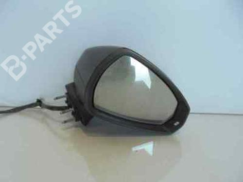 Außenspiegel rechts AUDI A3 (8V1, 8VK)  8V1857410F | NEGRO | ELECTRICO 6 CABLES | 32739227