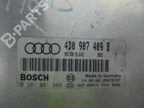 Steuergerät Motor AUDI A8 (4D2, 4D8) 3.3 TDI quattro 0281001868   0281001868   4D0907409B   32736509