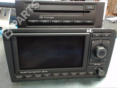 AUDI: 8611360V310 , 8E0035111D, 8P0035192L, AUDI, AUDI, AUDI Bilradio A3 (8P1) 1.6 (102 hp) [2003-2012]  5896364