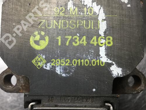 BMW: 1734468 , 2052.0110.010, 20520110010 Zündspule 3 Coupe (E36) 318 is (140 hp) [1992-1995]  5508170