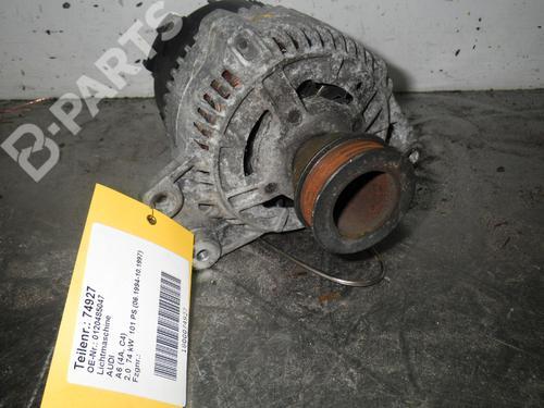 AUDI: 0120485047 Generator A6 (4A2, C4) 2.0 (100 hp) [1994-1997]  5516722