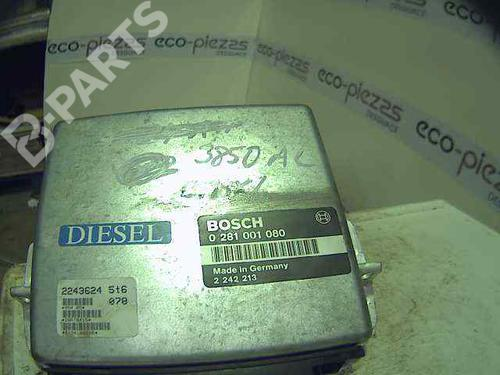 0281001080 | Centralina do motor 5 (E34) 524 td (115 hp) [1988-1991]  5343819