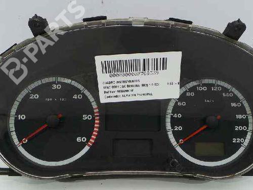 6K0920801F | 6K0920801F | 6K0920801F | Quadrante CORDOBA (6K1, 6K2) 1.9 TDI (110 hp) [1997-2002]  6257104