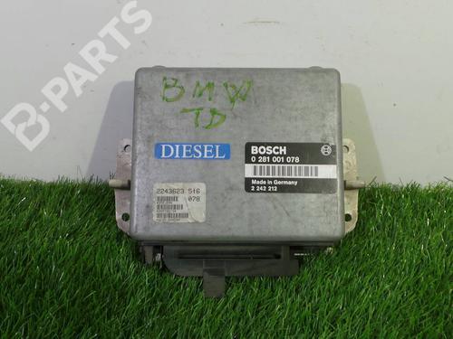 0281 001 078 Centralina do motor 5 (E34) 524 td (115 hp) [1988-1991] M21 D24 (246TB) 888356