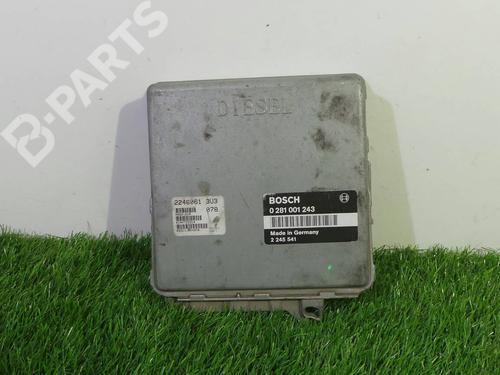 0281 001 243 Centralina do motor 3 (E36) 318 tds (90 hp) [1995-1998] M41 D17 (174T1) 889862