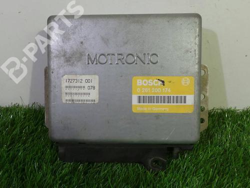 0261 200 174 Centralina do motor 3 (E30) 316 i (100 hp) [1987-1991] M40 B16 (164E1) 890059