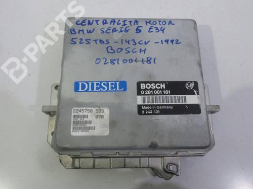 0281001181 Centralita motor 5 (E34) 525 tds (143 hp) [1991-1995] M51 D25 (256T1) 1940022