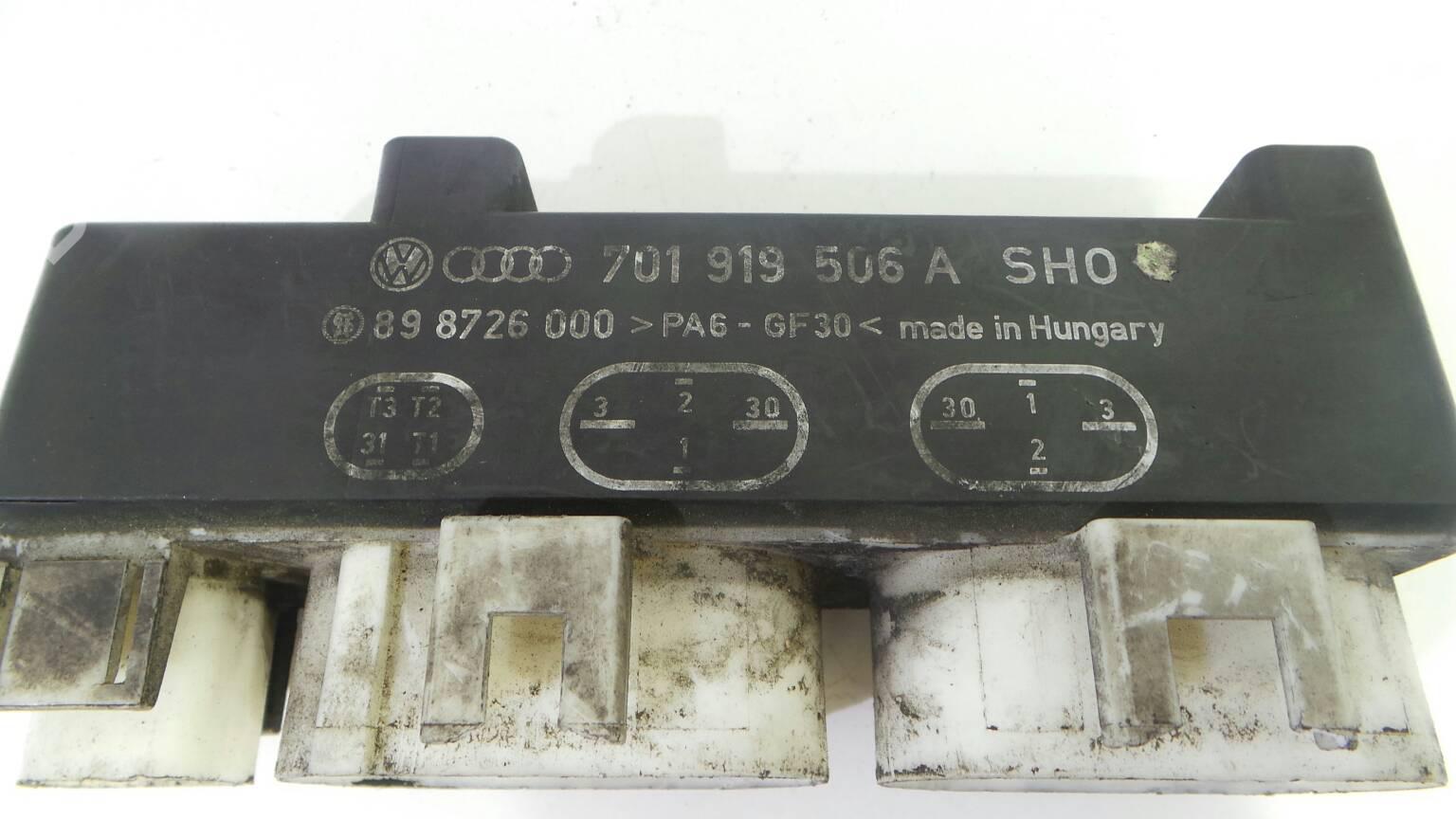 Ford Galaxy Fuse Box Problem
