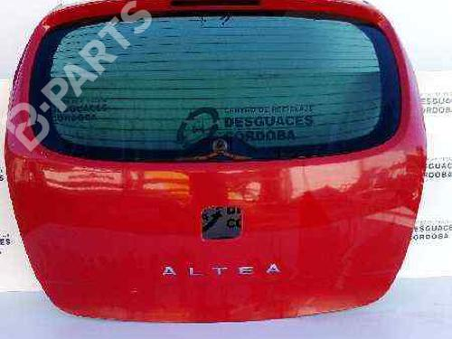 ROJO | Coffre ALTEA (5P1) 1.9 TDI (105 hp) [2004-2021]  5688305