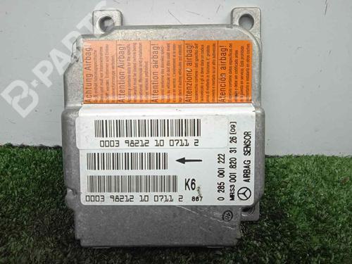 0285001222 - 0018203126 | BOSCH | Centralita airbag A-CLASS (W168) A 140 (168.031, 168.131) (82 hp) [1997-2004]  7109512