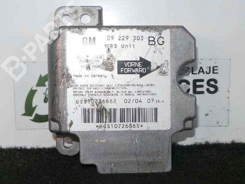 5WK42926 - 09229303 - BG   SIEMENS   Kollisjonspute styreenhet ZAFIRA A MPV (T98) 2.2 DTI 16V (F75) (125 hp) [2002-2005] Y 22 DTR 5698268