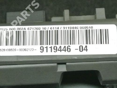 BMW: 9119446 Caixa de fusíveis 3 Touring (E91) 320 d (177 hp) [2007-2010]  6721118