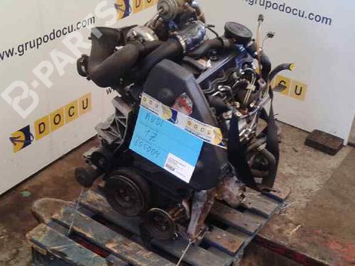 Engine 1Z AUDI, 80 Avant (8C5, B4) 1.9 TDI (90hp), 1992-1993-1994-1995-1996 12711185