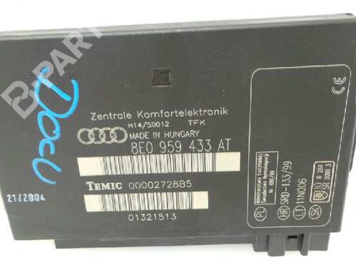 Control Unit 8E0959433  AUDI, A4 (8E2, B6) 1.9 TDI (130hp), 2000-2001-2002-2003-2004 12718922