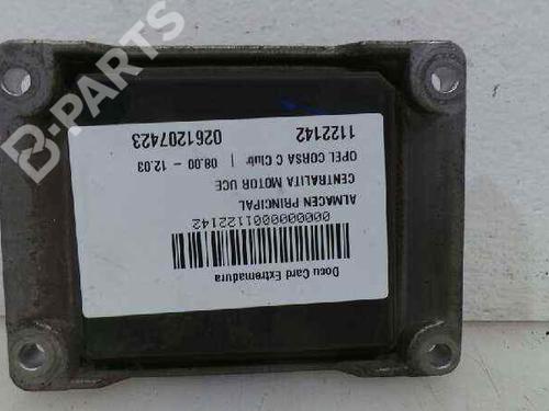 Motorstyringsenhet OPEL CORSA C (X01) 1.2 (F08, F68) 0261207423   0261207423   30849836
