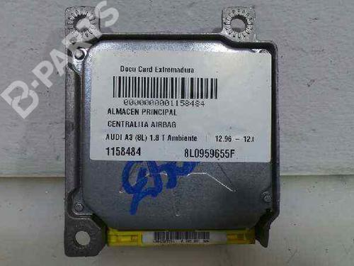 Kollisjonspute styreenhet AUDI A3 (8L1) 1.8 T 8L0959655F | 8L0959655F | 29169899