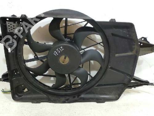 Radiator Fan FOCUS (DAW, DBW) 1.8 TDCi (100 hp) [2002-2004] FFDA 348156