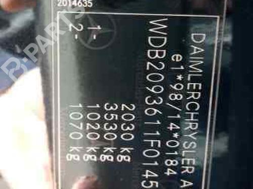 Mando MERCEDES-BENZ CLK (C209) 240 (209.361)  27030515