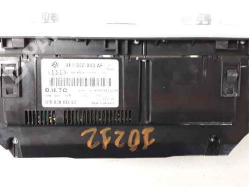 Mando climatizador AUDI A6 (4F2, C6) 3.0 TDI quattro 4F1820043AF | 5HB00883350 | 34453175