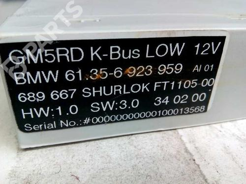 Centralina fecho central BMW 3 (E46) 316 i 61356923959 8415287