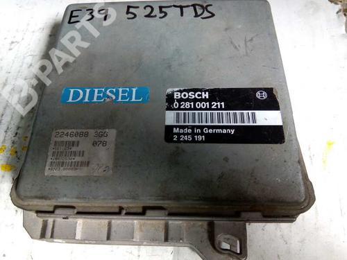Centralina do motor BMW 5 (E39) 520 i 0281001211 8415298