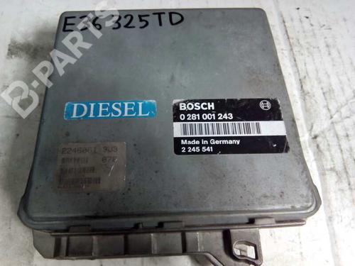 Centralina do motor BMW 3 (E36) 325 tds 0281001243 8415305