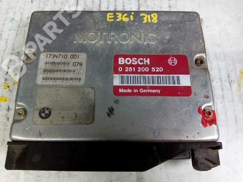 Centralina do motor BMW 3 (E36) 325 tds 1734710 8415317