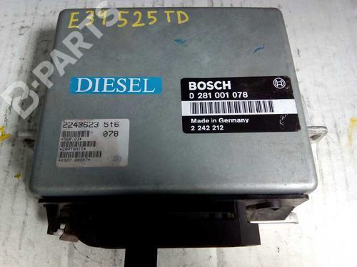 Centralina do motor BMW 5 (E39) 525 tds 0281001078 8415331
