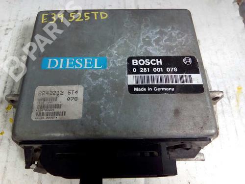 Centralina do motor BMW 5 (E39) 520 i 0281001078 8415334