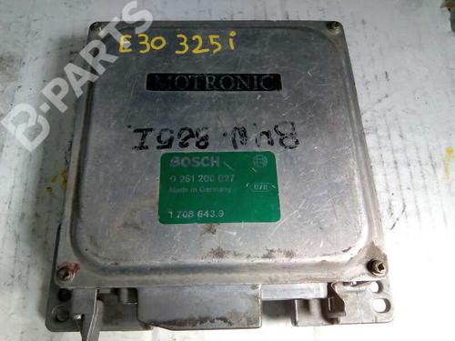 Centralina do motor BMW 3 (E30) 318 i 0261200027 8415347