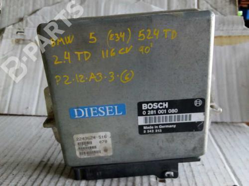 Centralina do motor BMW 5 (E34) 520 i 24V 2243624 8416086
