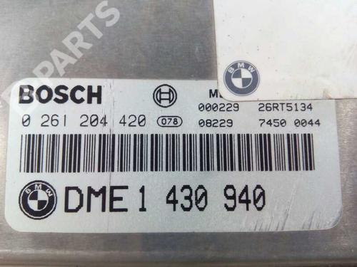 Centralina do motor BMW 3 (E36) 318 i DME1430940 8416332