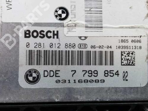 Motorstyringsenhet BMW 3 (E90) 318 d 13617808124 2607572
