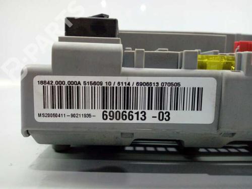 Caixa de fusíveis BMW 3 (E90) 320 i 92969881030101 | E1-A3-15-2 | 17855929