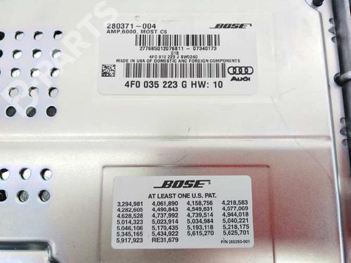 Module électronique AUDI A6 Allroad (4FH, C6) 3.2 FSI quattro 4F0035223G  9393436