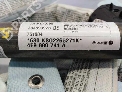 Venstre gardin airbag AUDI A6 Allroad (4FH, C6) 3.2 FSI quattro 4F9880741A | E1-B6-15-4 | 17889938