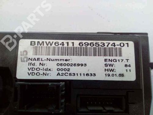Comando chauffage BMW 3 (E90) 320 d 696537401 | E3-A2-24-4 | 37682382