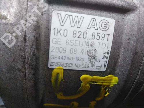 Ac Compressor 1K0820859T | 6SEU14CTD1 | P3-A1-22-2 | AUDI, A3 (8P1) 1.4 TFSI(3 doors) (125hp) CAXC, 2007-2008-2009-2010-2011-2012 23330835