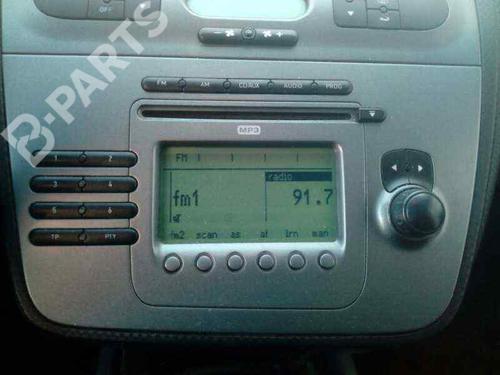 Autoradio SEAT ALTEA XL (5P5, 5P8) 2.0 TDI 16V 5P1035186BN87 | 30205289