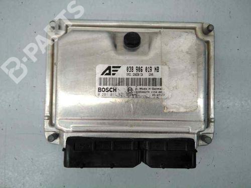 Centralita motor FORD GALAXY (WGR) 1.9 TDI 038906019NB | 0281011821 | E3-B3-33-3 | 31072535