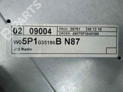 Autoradio SEAT ALTEA XL (5P5, 5P8) 2.0 TDI 16V 5P1035186BN87 | 30205292