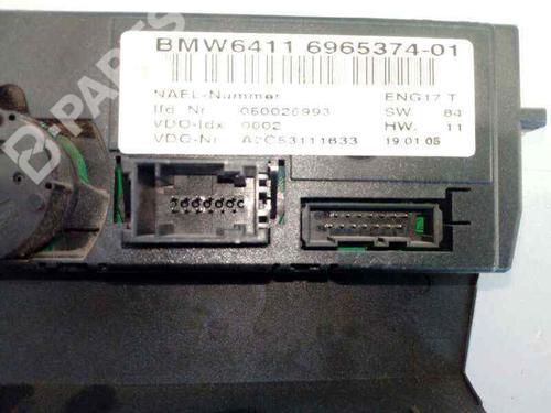Comando chauffage BMW 3 (E90) 320 d 696537401 | E3-A2-24-4 | 37682383
