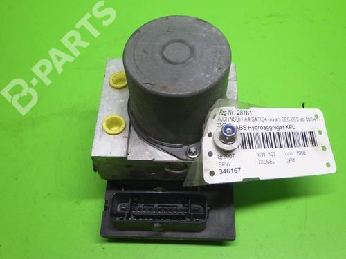AUDI: 8E0614517BF Bremsaggregat ABS A4 Avant (8ED, B7) 2.0 TDI (140 hp) [2004-2008]  6395331