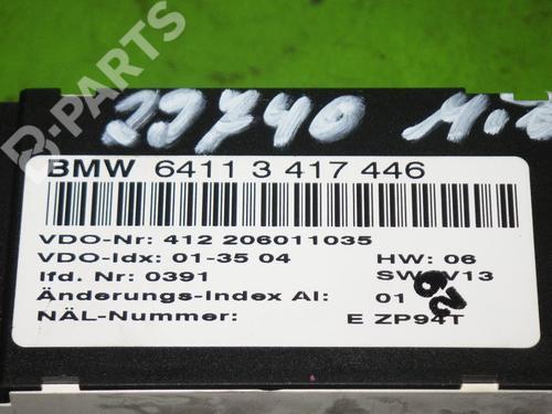 Climate control BMW X3 (E83) 2.0 d BMW: 64113417446 35232810