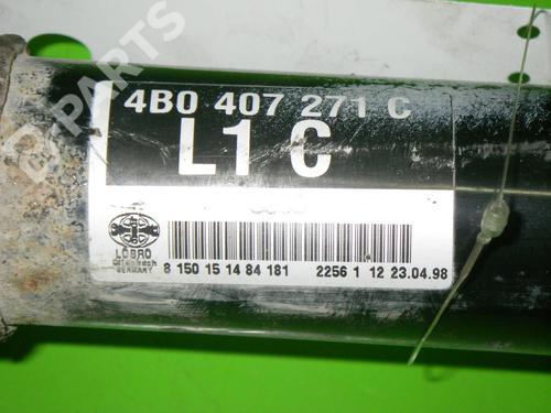 Antriebswelle links vorne AUDI A6 (4B2, C5) 2.4 quattro AUDI: 4B0407271C 36100025