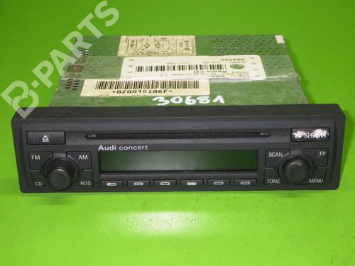 AUDI: 8Z0035186F Autoradio A2 (8Z0) 1.4 (75 hp) [2000-2005]  6976832