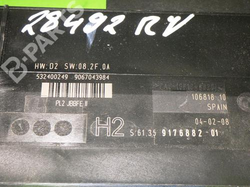 Control unit BMW 1 (E81) 118 d BMW: 61359176882 35123716